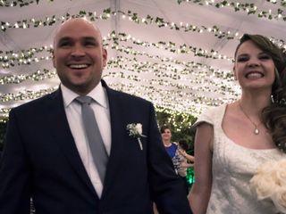 El matrimonio de Marie y Santiago