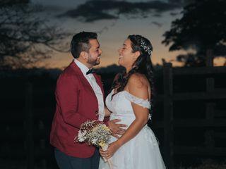 El matrimonio de Samuel y Isabel