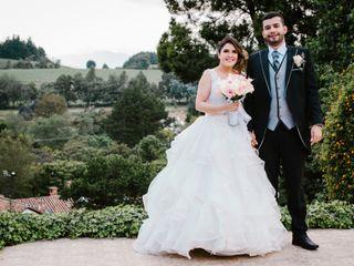 El matrimonio de Estefania y Juan Manuel
