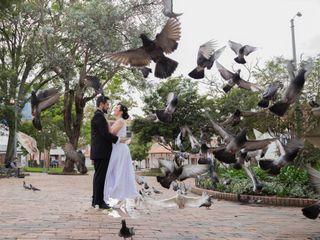 El matrimonio de Catalina y Marco Andés