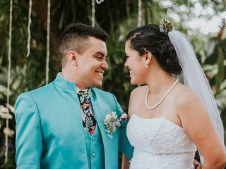 El matrimonio de Andrea y Stivens