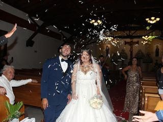 El matrimonio de Mónica y Yahin
