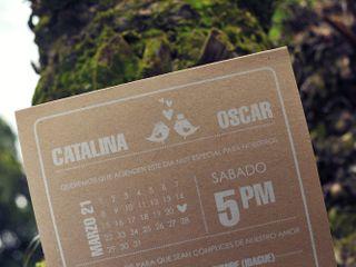 El matrimonio de Catalina y Oscar 1