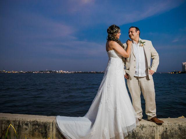 El matrimonio de Fredy y Ingrid en Cartagena, Bolívar 7