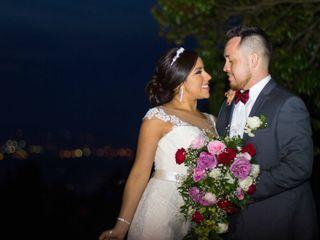 El matrimonio de Alejandra y Óscar