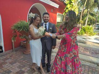 El matrimonio de Estefania  y Luis