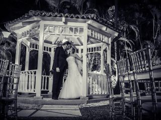 El matrimonio de Natalia y Pierre