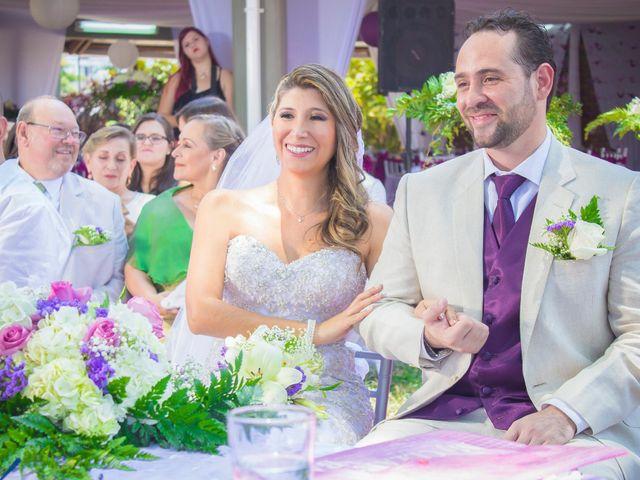 El matrimonio de Flor y David