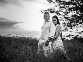 El matrimonio de Eugenio y Katherin