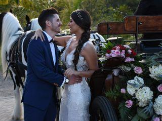 El matrimonio de Geraldine  y Jorge
