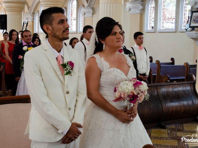 El matrimonio de Katerine y Edwin