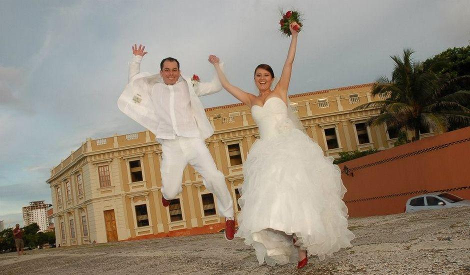 El matrimonio de Elkin y Lida en Cartagena, Bolívar
