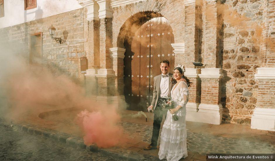 El matrimonio de Edward y Susana en Santafé de Antioquia, Antioquia