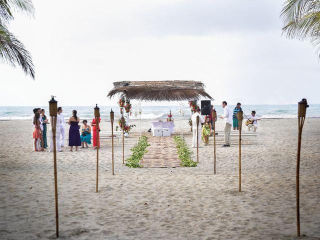 El matrimonio de Alejandro y Nicole en Santa Marta, Magdalena 8
