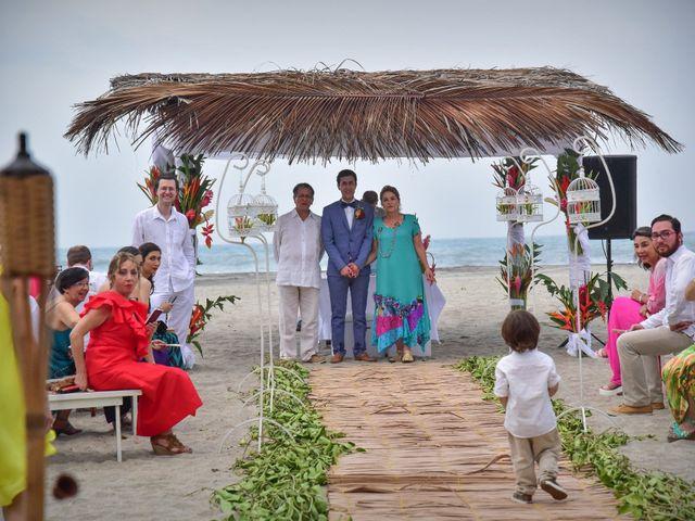 El matrimonio de Alejandro y Nicole en Santa Marta, Magdalena 12