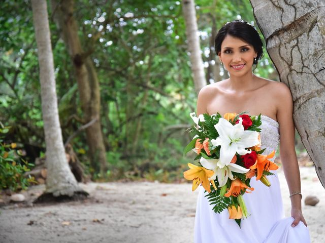 El matrimonio de Alejandro y Nicole en Santa Marta, Magdalena 14