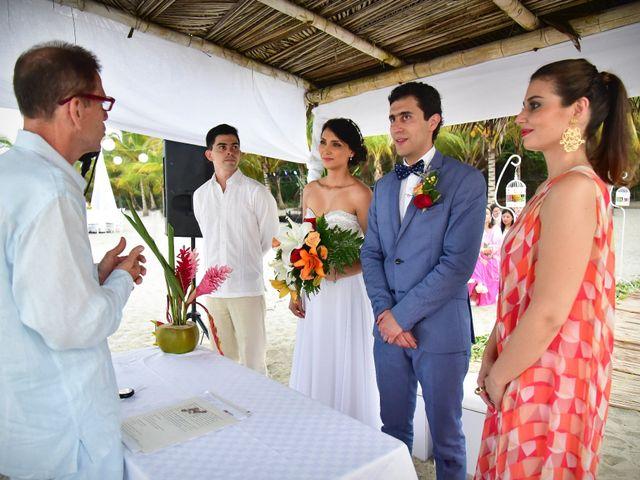 El matrimonio de Alejandro y Nicole en Santa Marta, Magdalena 15