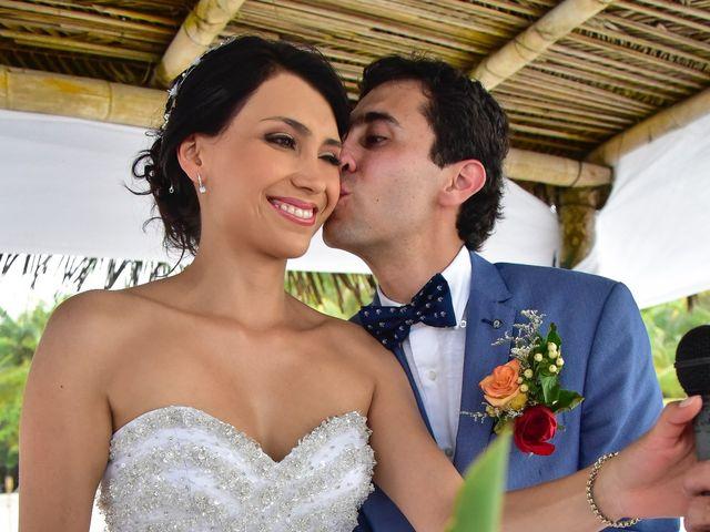 El matrimonio de Alejandro y Nicole en Santa Marta, Magdalena 17