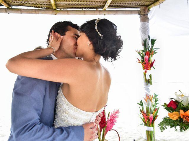 El matrimonio de Alejandro y Nicole en Santa Marta, Magdalena 1