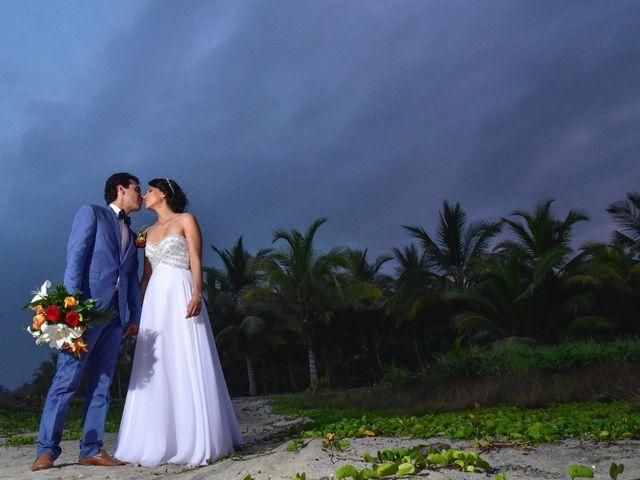 El matrimonio de Alejandro y Nicole en Santa Marta, Magdalena 25
