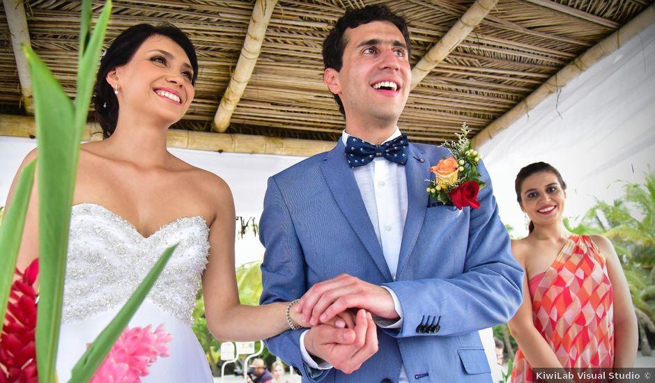 El matrimonio de Alejandro y Nicole en Santa Marta, Magdalena