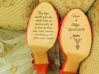 El matrimonio de Vanessa  y Alejandro  2