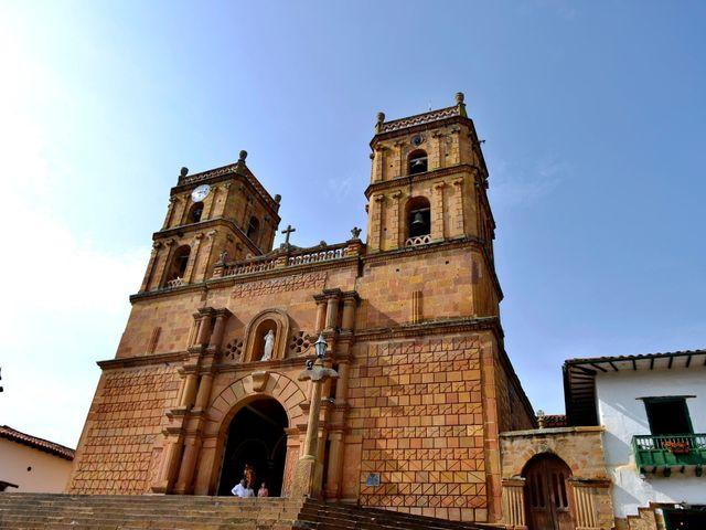 El matrimonio de Felipe y Maria en Barichara, Santander 17