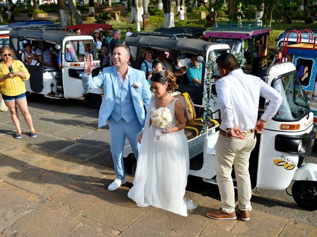 El matrimonio de Felipe y Maria en Barichara, Santander 30