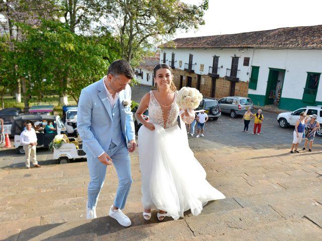 El matrimonio de Felipe y Maria en Barichara, Santander 31