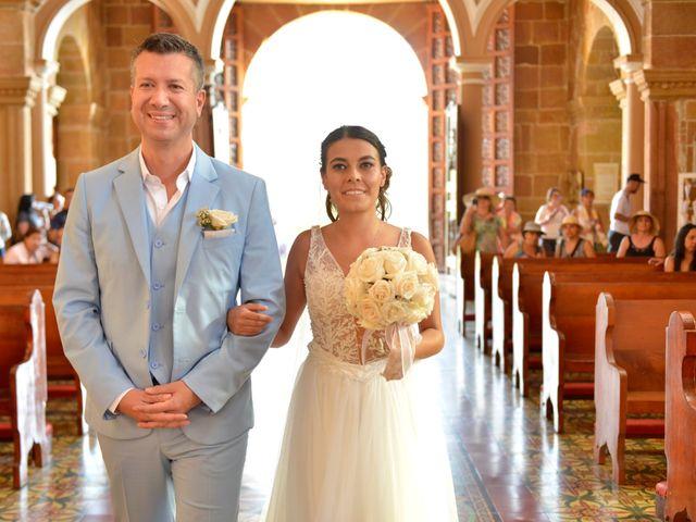 El matrimonio de Felipe y Maria en Barichara, Santander 37