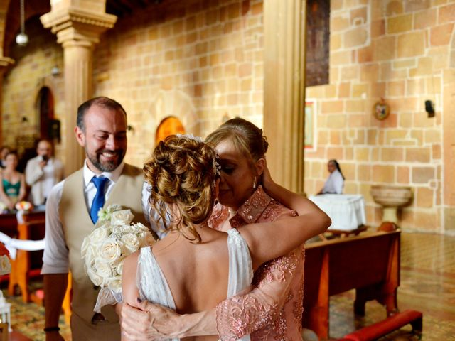 El matrimonio de Felipe y Maria en Barichara, Santander 40