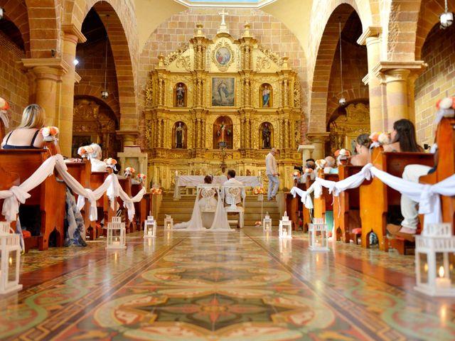 El matrimonio de Felipe y Maria en Barichara, Santander 44