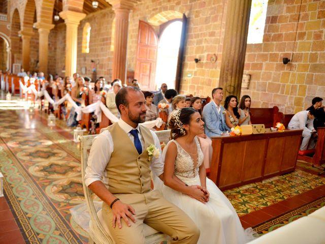 El matrimonio de Felipe y Maria en Barichara, Santander 45
