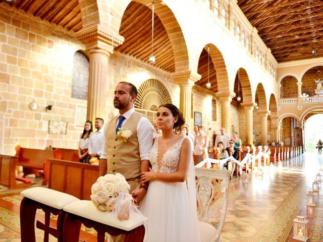 El matrimonio de Felipe y Maria en Barichara, Santander 56