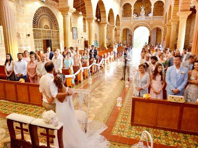 El matrimonio de Felipe y Maria en Barichara, Santander 58