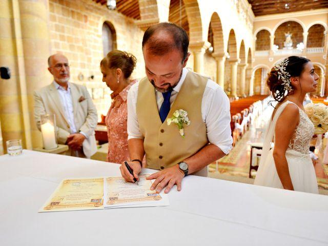 El matrimonio de Felipe y Maria en Barichara, Santander 63