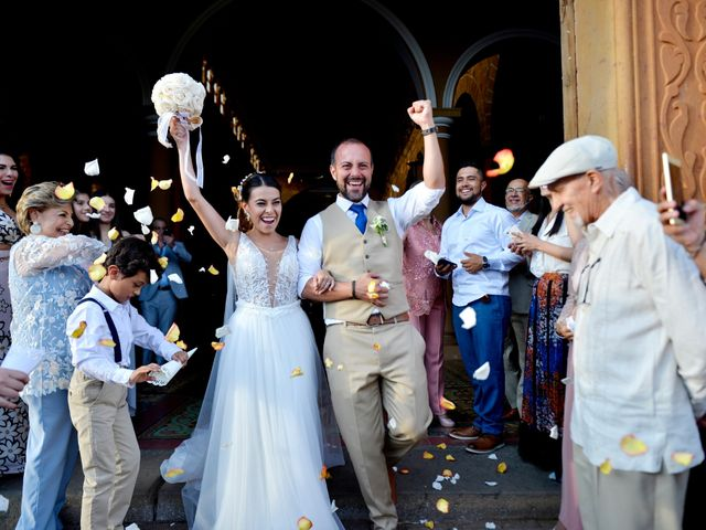 El matrimonio de Felipe y Maria en Barichara, Santander 1