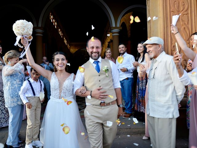 El matrimonio de Felipe y Maria en Barichara, Santander 67