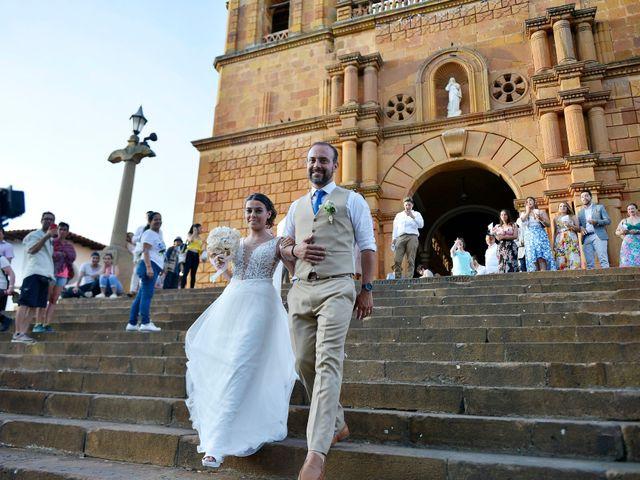 El matrimonio de Felipe y Maria en Barichara, Santander 68