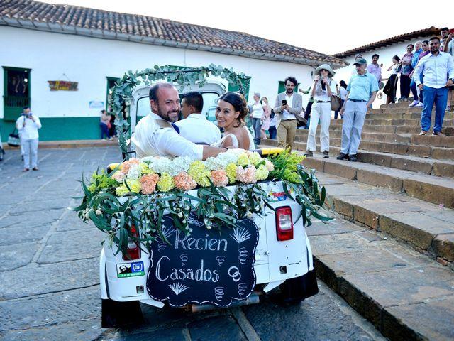El matrimonio de Felipe y Maria en Barichara, Santander 69