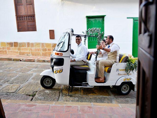 El matrimonio de Felipe y Maria en Barichara, Santander 70
