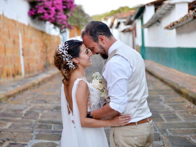 El matrimonio de Felipe y Maria en Barichara, Santander 71