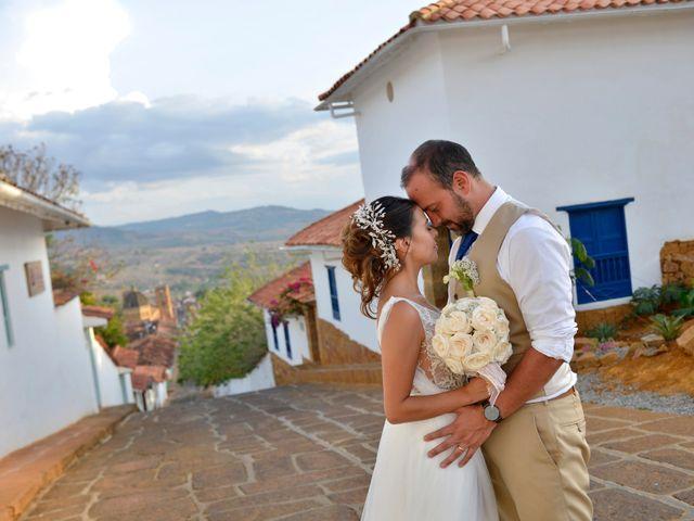 El matrimonio de Felipe y Maria en Barichara, Santander 74