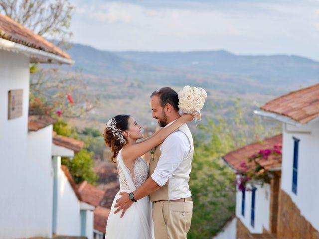 El matrimonio de Felipe y Maria en Barichara, Santander 75