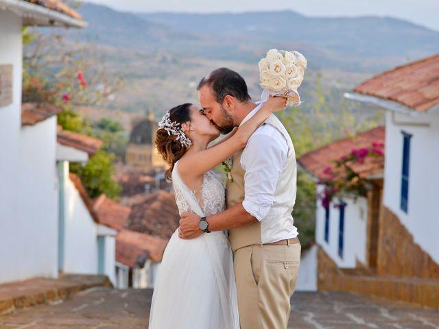 El matrimonio de Felipe y Maria en Barichara, Santander 76