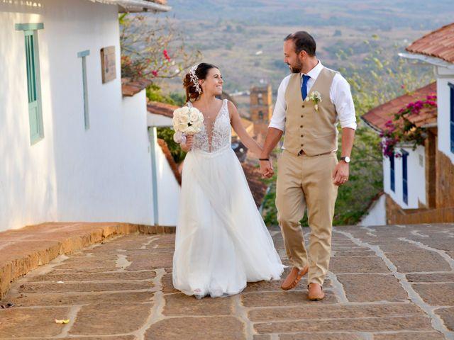 El matrimonio de Felipe y Maria en Barichara, Santander 77