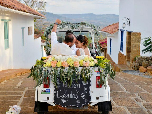 El matrimonio de Felipe y Maria en Barichara, Santander 79