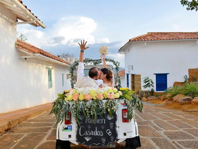 El matrimonio de Felipe y Maria en Barichara, Santander 80