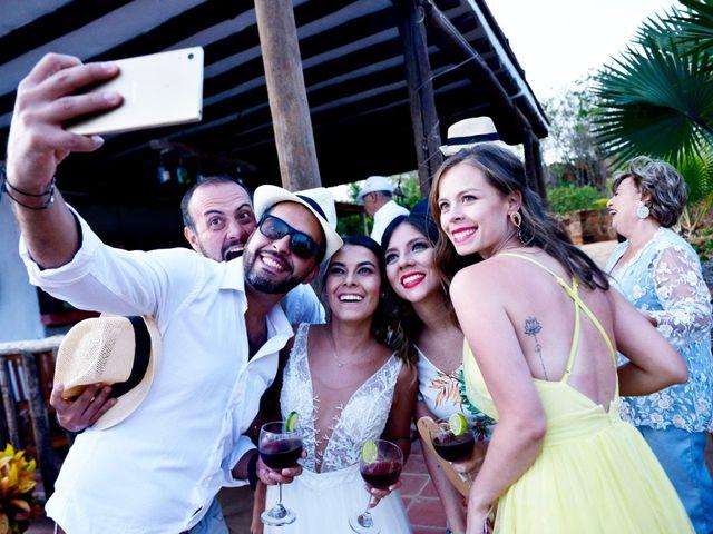 El matrimonio de Felipe y Maria en Barichara, Santander 88