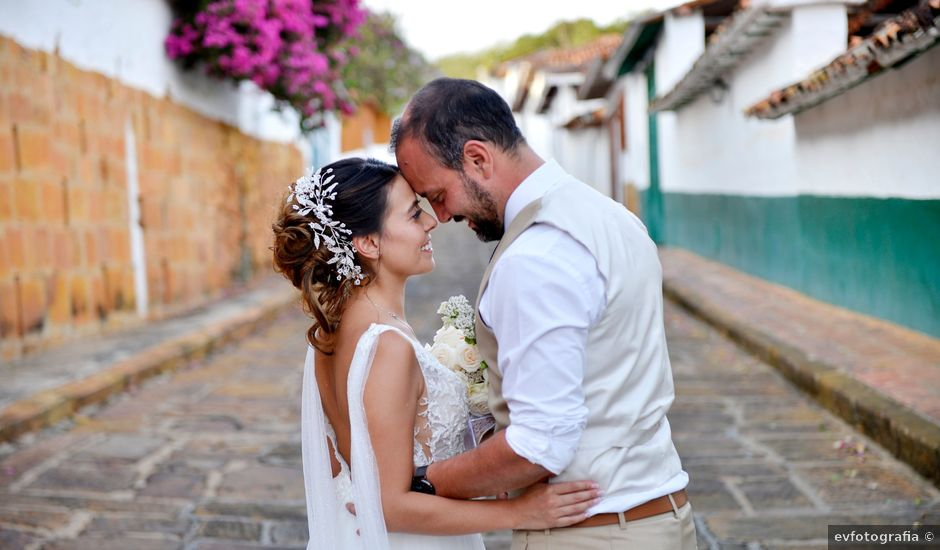 El matrimonio de Felipe y Maria en Barichara, Santander